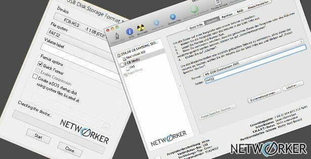 Sd Karte Formatieren Mac.Sd Karten Usb Sticks Mit Fat32 Formatieren Netw0rker