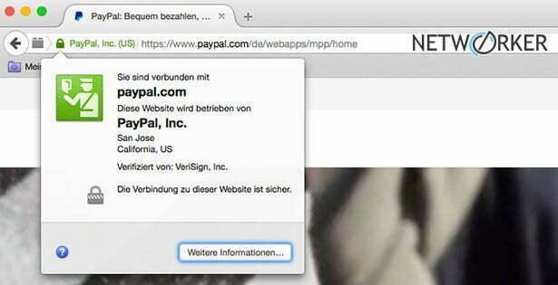 PayPal SSL Zertifikat