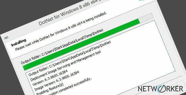 .NET Framework 3.5 installieren - Standalone